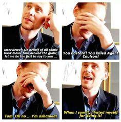Aww poor Tom ..... I forgive you