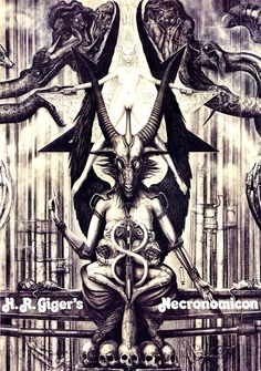 H.R. Giger - Necronomicon | Ópio do Trivial