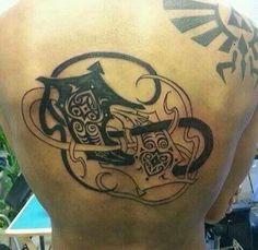 Amazing Avatar tattoo