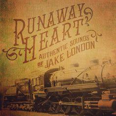 Runaway Heart album cover study by Keith Tatum.  #typehunter #vintagetypography