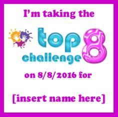 2016 Top 8 Challenge Badge