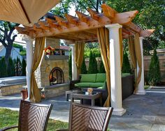 Cozy Up By The Outdoor Fireplace For Patio Furniture Ideas Check Out Our
