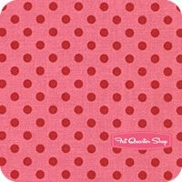 Children at Play Cotton Berry Dot to Dot Yardage SKU# DC5153-BERR-D - Fat Quarter Shop