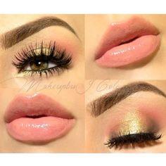 Soft yet pretty http://makeupbag.tumblr.com/