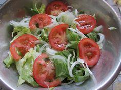 Kulinarne Wariacje: Sałata lodowa ekspresowa