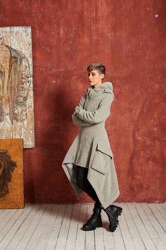 Lange Wintermantel Boho Mantel Plus Größe Mantel