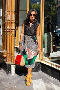 As if I didn't have enough reasons to want warmer weather, Shiona Turini gives me one more: this outfit.