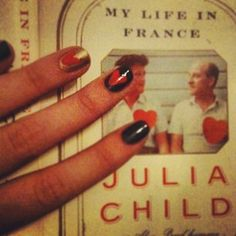 Stylish Nail Art Inspired by Book Covers