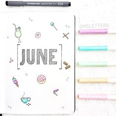 I'm so behind but better late than never right :) - June cover page