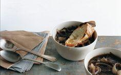 French Red Onion Soup: 2000s Recipes + Menus : gourmet.com