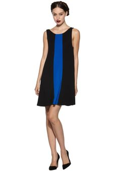 MARIS BOATNECK SHIFT DRESS   Alice + Olivia  