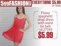 """599fashion.com - Everything $5.99 or Less Check out this weeks """"5 Favorite Picks"""""""