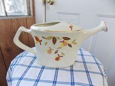 Hall/Jewel Tea Company's Autumn Leaf Club Watering Can