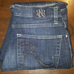 Friday Sale Rock Republic jeans.   Kasandra These are Rock Republic jeans.  The style is Kasandra.  They are size 31 aka 12 with a length of about 30.  They are in good condition with normal signs of wear and no fray.  Nice jeans better price. Seven7 Jeans Boot Cut