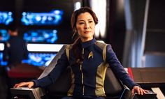 Michelle Yeoh and Sonequa Martin-Green are front and centre in new Star Trek: Discovery images