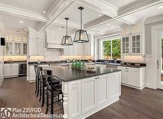 Breakfast is served in 5 Bed House Plan 23591JD. #readwhenyouare