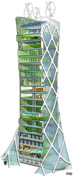 Vertical farming Does it really stack up? Agriculture: Growing crops in vertical farms in the heart of cities is said to be a greener way to produce food. But the idea is still unproven