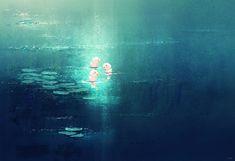 Pond stories. by PascalCampion.deviantart.com on @deviantART