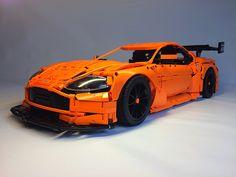 Aston Martin Vantage Gt3, Aston Martin Cars, Lego Technic, Best Rc Cars, Lego Wheels, Best Lego Sets, Lego Racers, Lego Mecha, Lego Modular