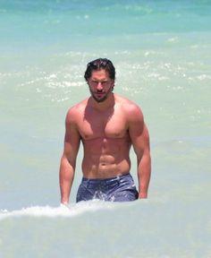 Joe Manganiello shirtless