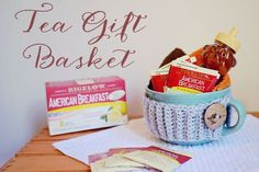 Tea Gift Basket for New Moms | by Sarah Halstead #AmericasTea #CollectiveBias #shop