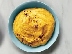 Spiced curry carrot dip with cancer-fighting curcumin.