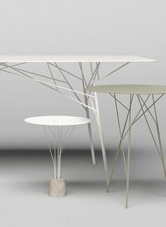The Design Walker — [CRAFT+DESIGN] shrub tables