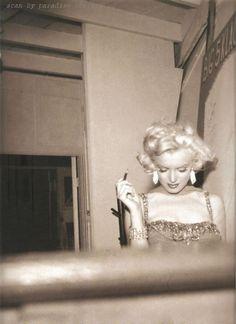 Marilyn Monroe | by Bruno Bernard | September 1953