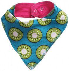 Maxomorra Kiwi Dribble Bib for Babies | Hei Moose