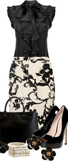 @paigemoore This totally looks like you. :) Moschino Cheap zipper skirt ● Kurt Geiger pumps