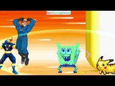 SpongeBob SquarePants & Pikachu The Pokemon VS Mr. Fantastic & Nova In A MUGEN Match / Battle This video showcases Gameplay of Pikachu The Electric Type Pokemon And SpongeBob SquarePants VS Mr. Fantastic The Leader Of The Fantastic Four And Nova The Superhero In A MUGEN Match / Battle / Fight