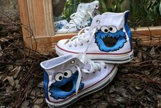 cookie monster shoes.