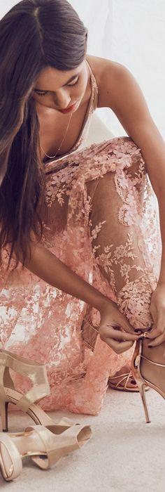 Sydney Lace Gown