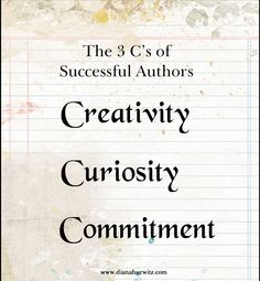 Blood-Red Pencil: The 3 Cs of Successful Authors