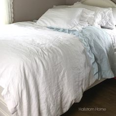 French Linen Duvet Cover Luxury Bedding
