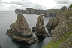 islands off donegal coast | sea stacks tory island co donegal from wikipedia tory island official ...