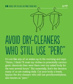 A helpful hint for living life more toxin-free. #toxinfreegen