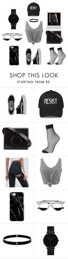 """Black is Beautiful"" by mani-stylez on Polyvore featuring Vans, Lemaire, Topshop, ASOS, WithChic, Recover, Lynn Ban and CLUSE"
