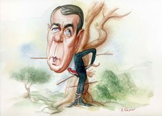 Goodbye John! National Review, Political Figures, American Artists, Caricature, Roman, Illustration, Artwork, Fictional Characters, Work Of Art