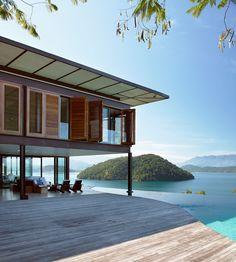 Uma casa no pedacinho do paraíso....
