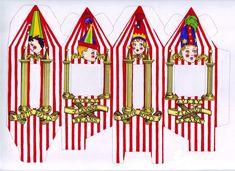 Boites à bonbons pour les invités : Dragées surprises de Bertie Crochue : « Prenez le risque à chaque bouchée ! » (Pour récupérer le document au bon format : cliquez sur la photo pour l'agrandir et clic droit souris, faire « Enregistrer l'image sous… »). Vous devez découper l'intérieur des « fenêtres » (partie blanche) et …