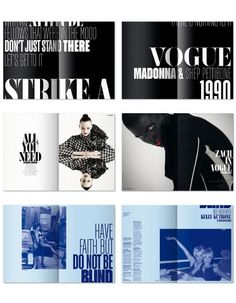 Fashion editorial design