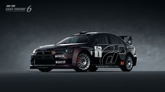 Mitsubishi Lancer Evolution X Rally Car