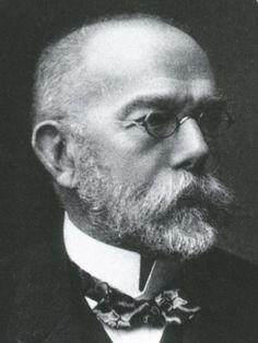 Robert Koch, Nobel Prize in Medicine, 1905