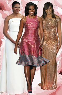 First Lady Michelle Obama - Style Icon Michelle Und Barack Obama, Barrack And Michelle, Michelle Obama Fashion, Barack Obama Family, Beautiful Black Women, Beautiful People, Durham, Joe Biden, Moda Afro