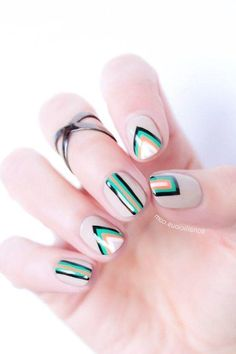 Latest Nail Art Designs That Fit Any Outfit - T - naildes Black Nail Designs, Nail Art Designs, Latest Nail Art, Nails, Outfits, Finger Nails, Suits, Ongles, Nail Designs
