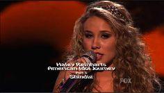 Haley Reinhart's American Idol Journey Part 3