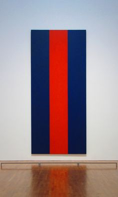 Barnett Newman 1905-1970 - Voice of Fire, 1967   Minimalist Art Movement