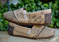 Custom TOMS Shoes What is Love Theme Beautiful by ArtisticSoles