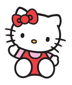 Images Hello Kitty, Chat Hello Kitty, Hello Kitty Cartoon, Hello Kitty Characters, Hello Kitty My Melody, Hello Kitty Theme Party, Hello Kitty Themes, Hello Kitty Birthday, Small Canvas Art